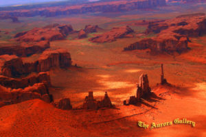 Aerial Overview-Monument Valley