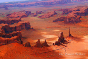 Aerial View, Monument Valley, Arizona