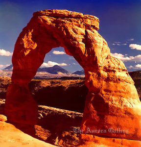 Delicate Arch, Arches National Monument, Utah