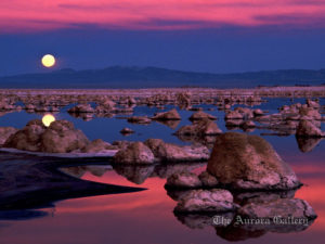 Moonrise Over Enigma, Mono Lake, California