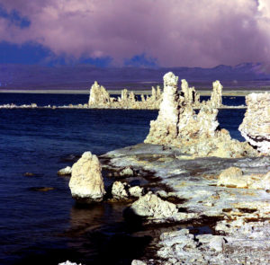 Icebergs, Mono Lake, California