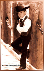 Wyatt Earp at a Young Age